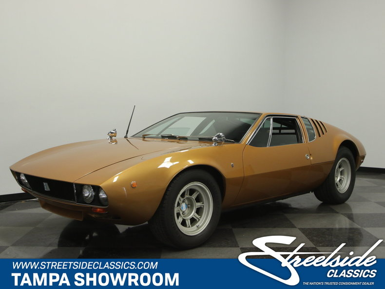 For Sale: 1969 De Tomaso Mangusta