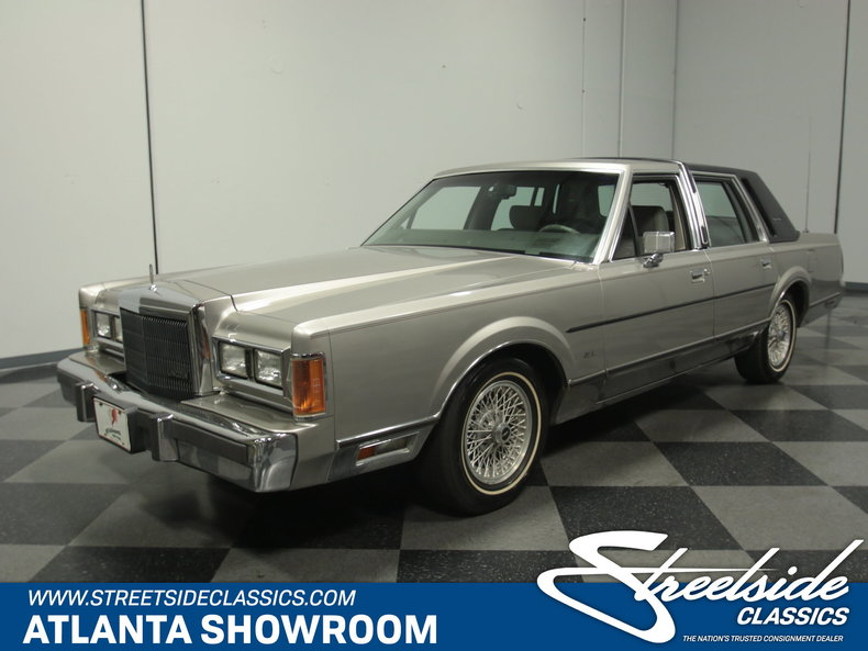For Sale: 1989 Lincoln
