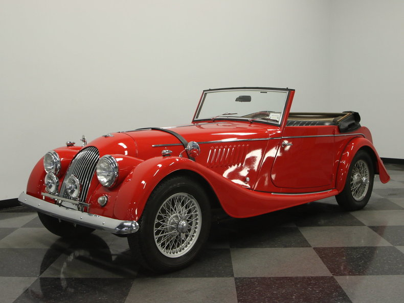 For Sale: 1962 Morgan Plus 4