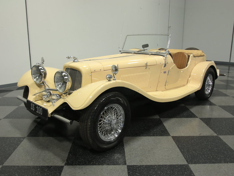 For Sale: 1982 Jaguar SS100