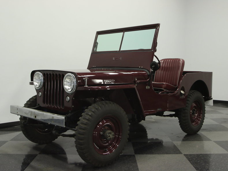 For Sale: 1945 Willys CJ2A