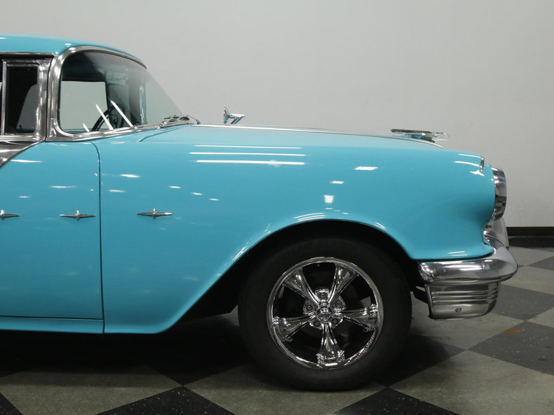 1955 pontiac star chief streetside classics the nation 39 s trusted classic car consignment dealer. Black Bedroom Furniture Sets. Home Design Ideas