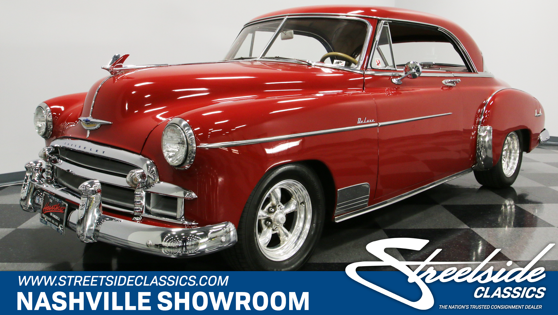 1950 Chevrolet Bel Air Streetside Classics The Nations Trusted 1966 Chevy For Sale Show More Photos