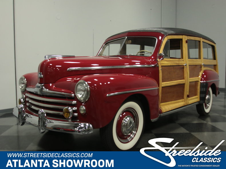 For Sale: 1947 Ford Woody Wagon