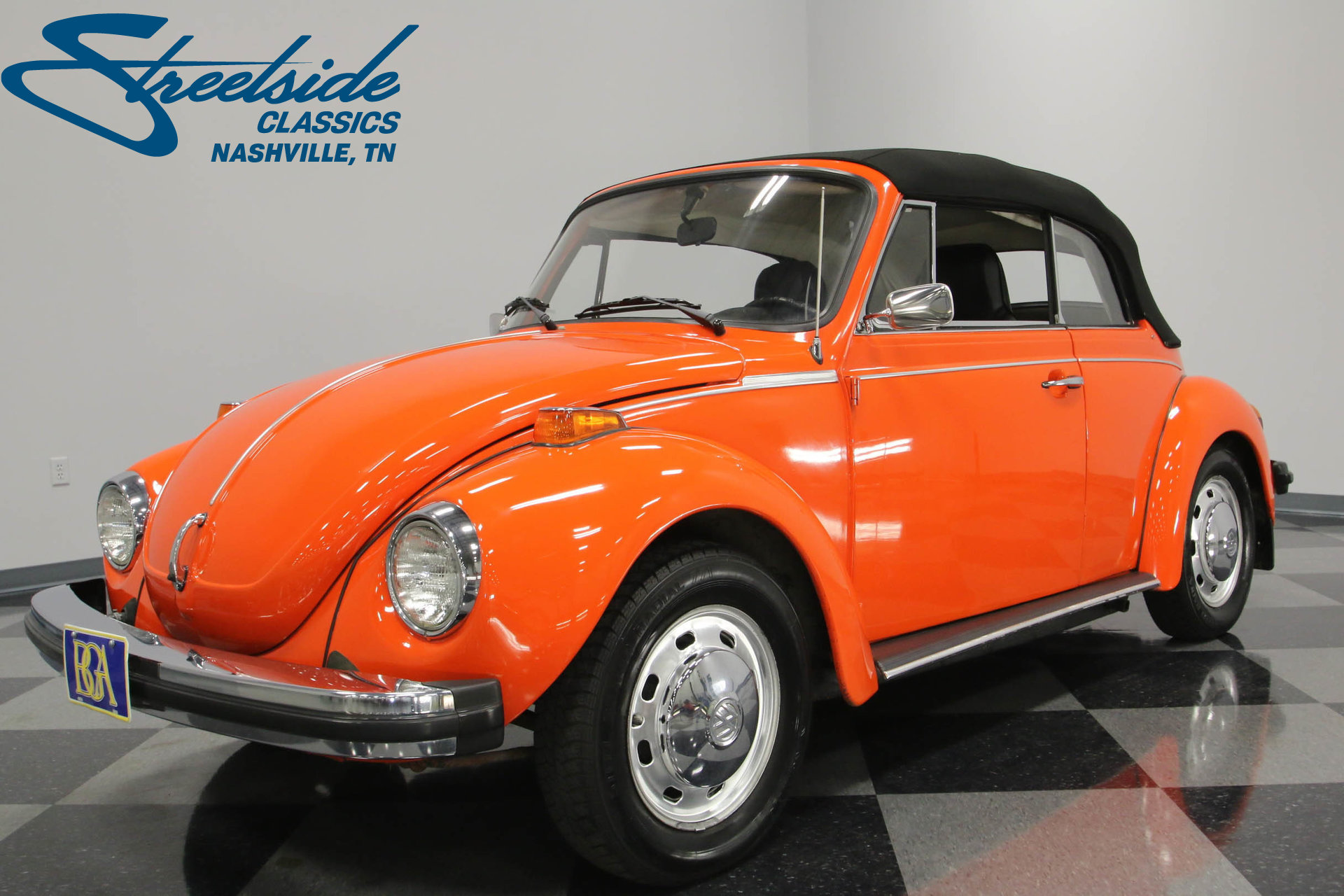 For Sale: 1974 Volkswagen Beetle. Spincar view. Play Video