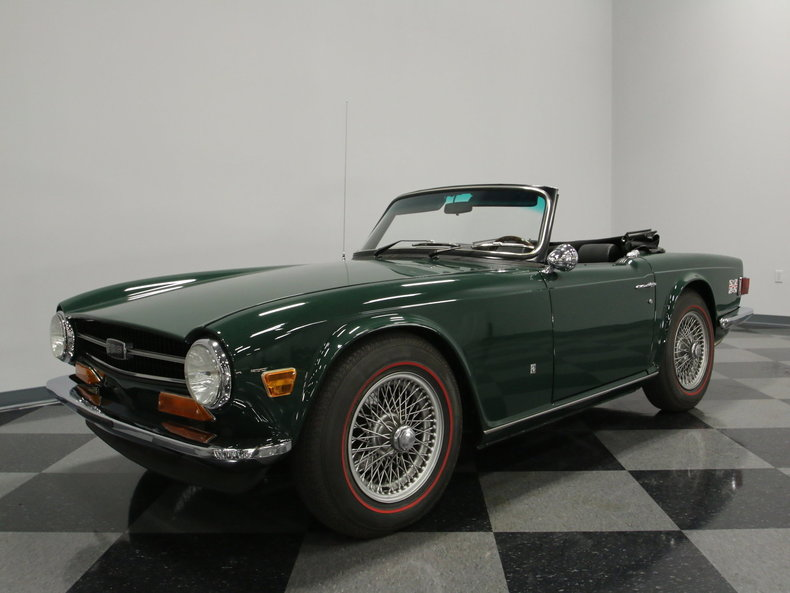 For Sale: 1973 Triumph TR6