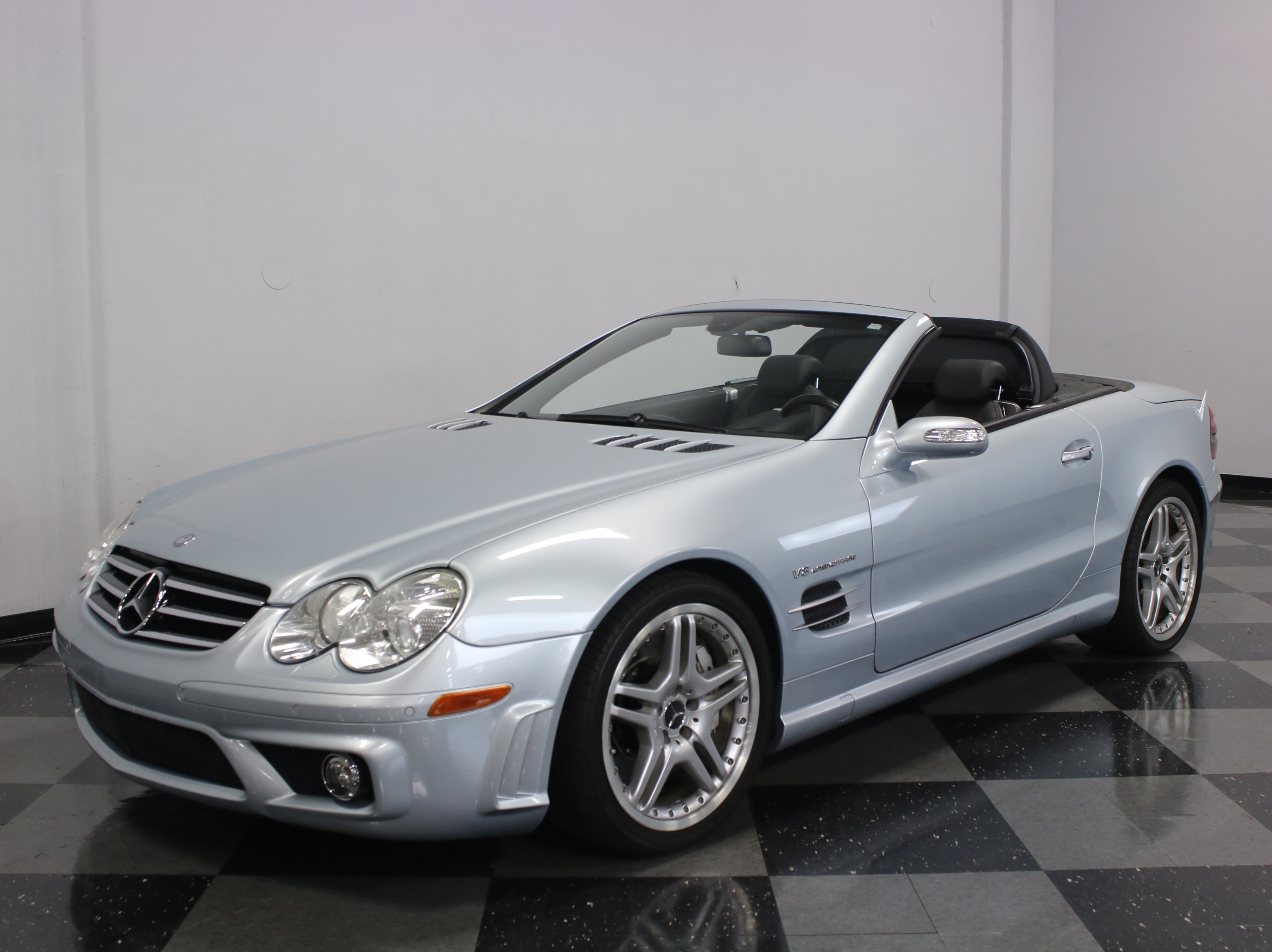2007 mercedes benz sl55 streetside classics the nation for Mercedes benz sl55 amg specs