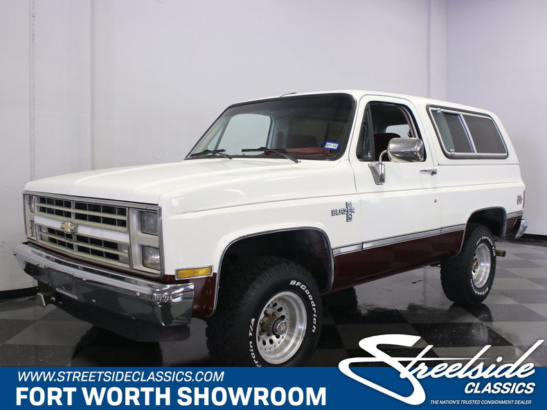 For Sale: 1987 Chevrolet Blazer