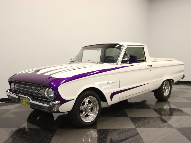 For Sale: 1961 Ford Ranchero