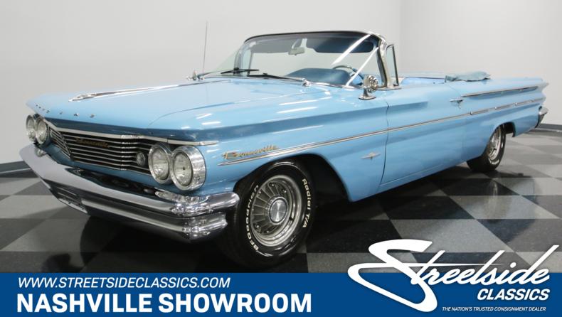 For Sale: 1960 Pontiac Bonneville
