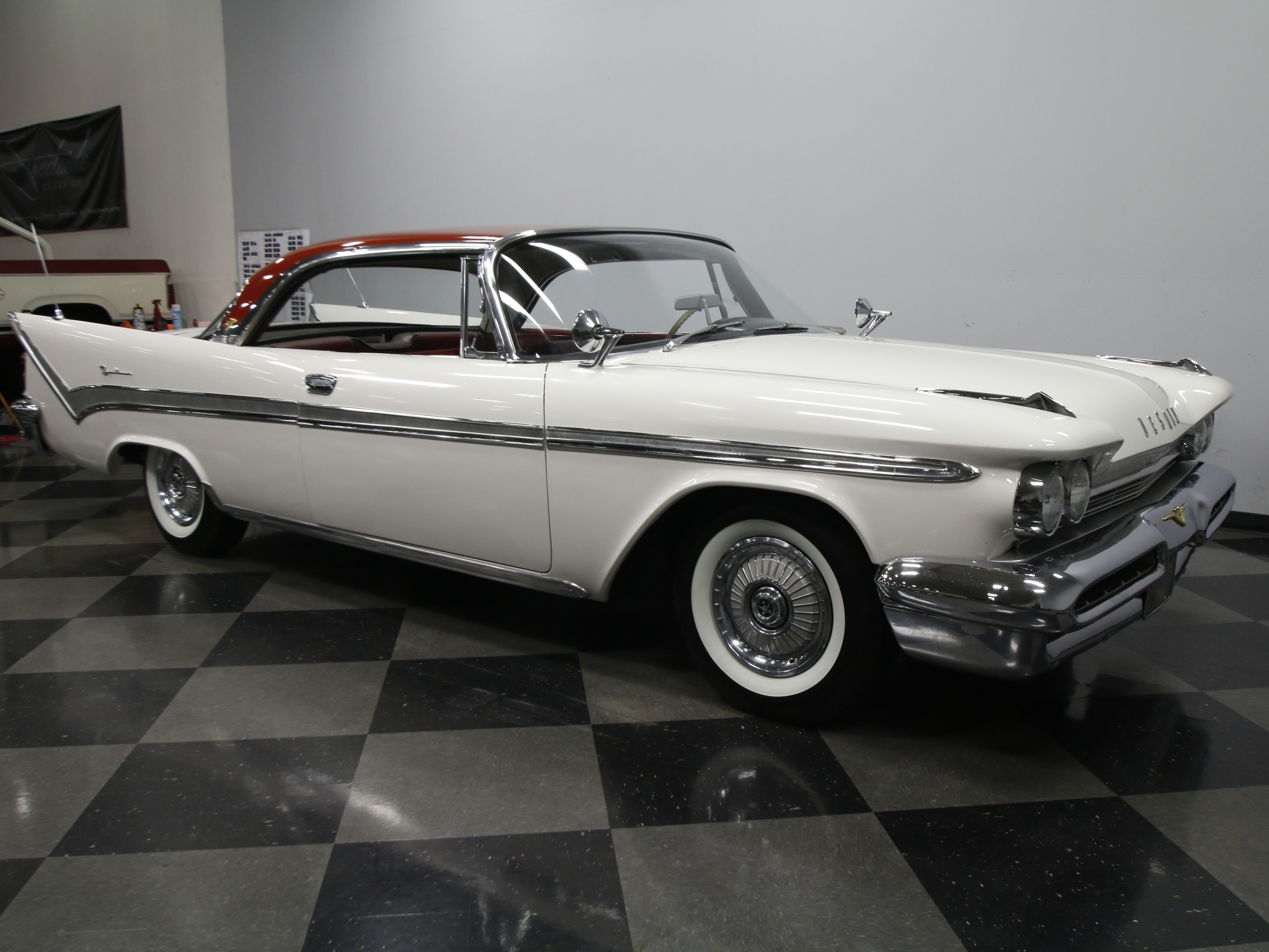 1959 DeSoto Firesweep : RARE BEAST, BELIEVED ORIG. 361 V8, PUSH BUTTON AUTO, SUPER SOLID/STRAIGHT/CLEAN!