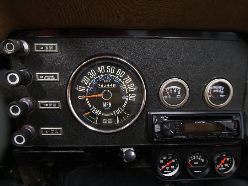 1979 Jeep CJ5 – Jeep Cj5 Tachometer Wiring