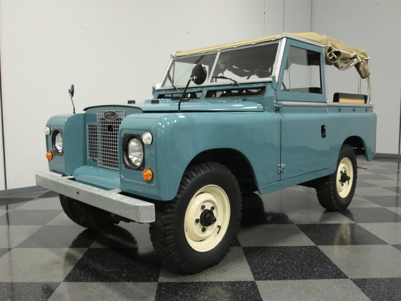 For Sale: 1969 Land Rover Series IIA