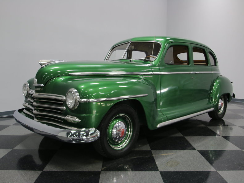 1947 plymouth special deluxe streetside classics for 1947 plymouth 4 door sedan