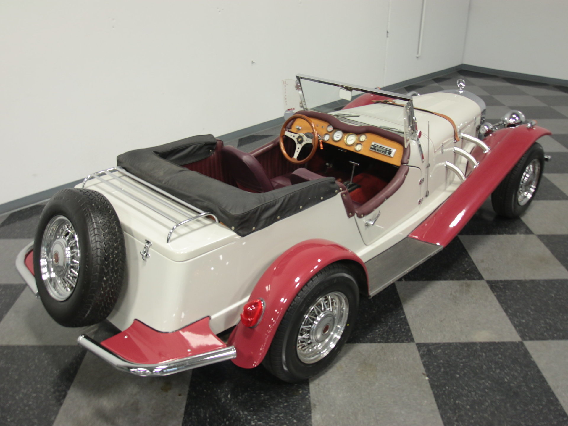 1929 Mercedes Benz Gazelle Streetside Classics The Nations 57 Chevy Convertible Top Wiring View 360