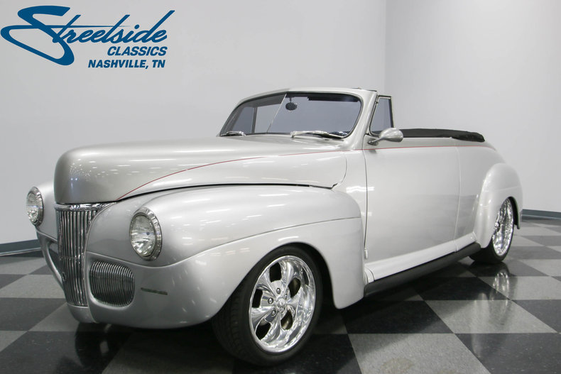 For Sale: 1941 Ford Cabriolet