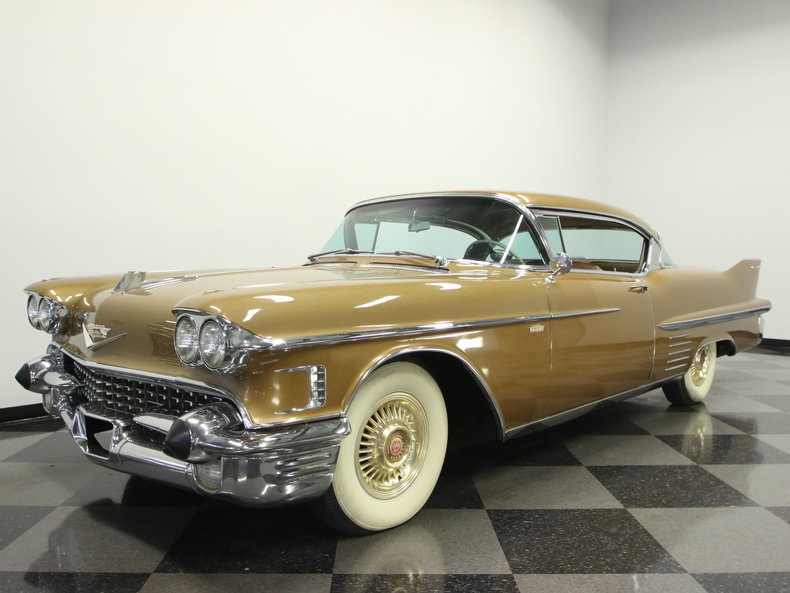 For Sale: 1958 Cadillac Series 62 Coupe Deville