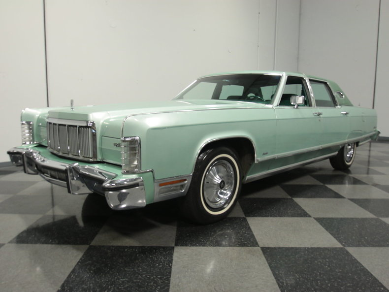 For Sale: 1976 Lincoln Town Car