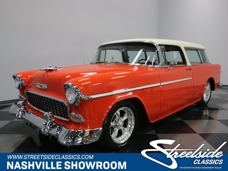 For Sale: 1955 Chevrolet Nomad