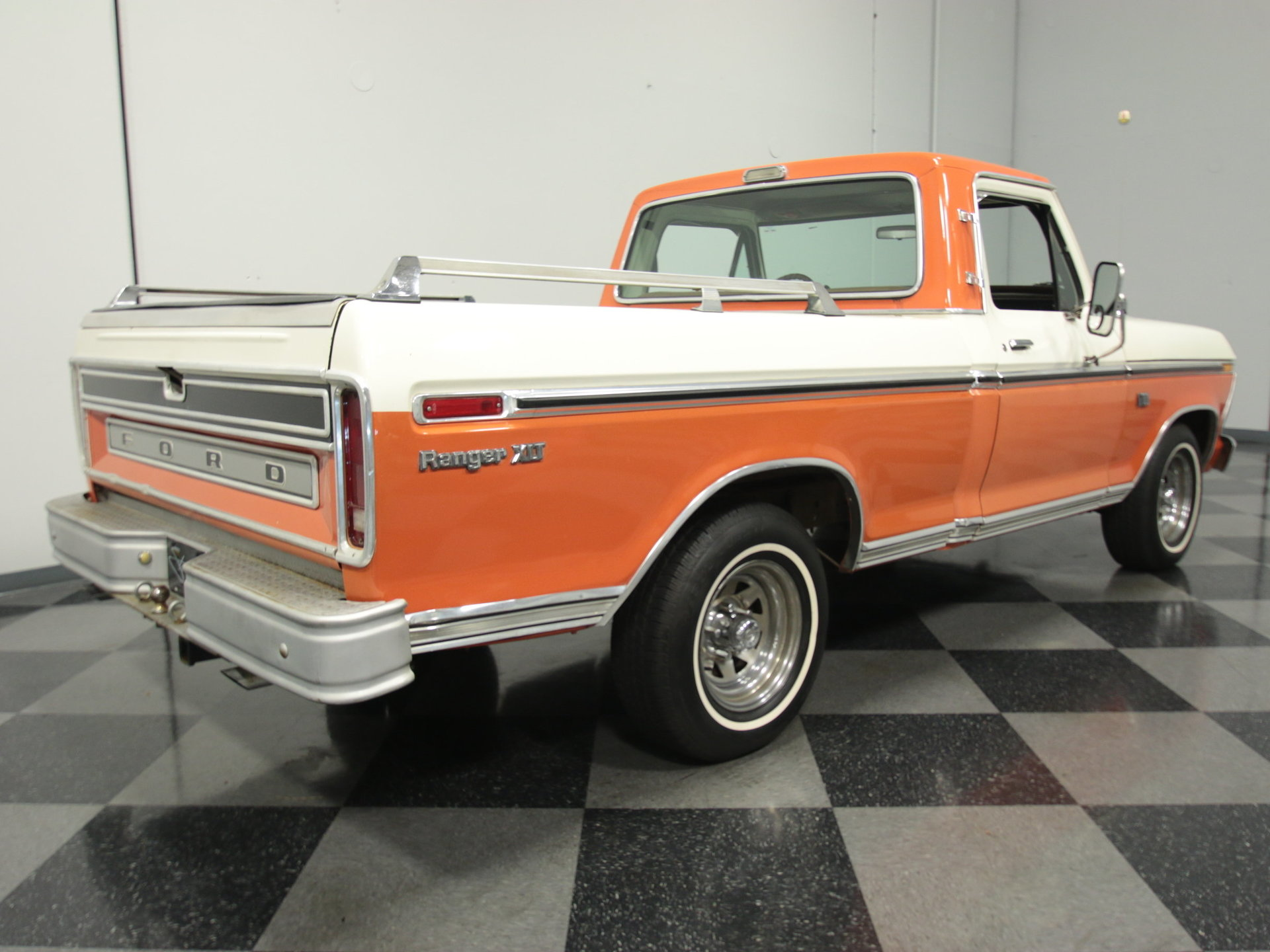 1974 Ford F 100 Streetside Classics The Nations Trusted Classic Wiring Diagram Further Gmc Cheyenne Pickup Truck On 1950 F1 View 360