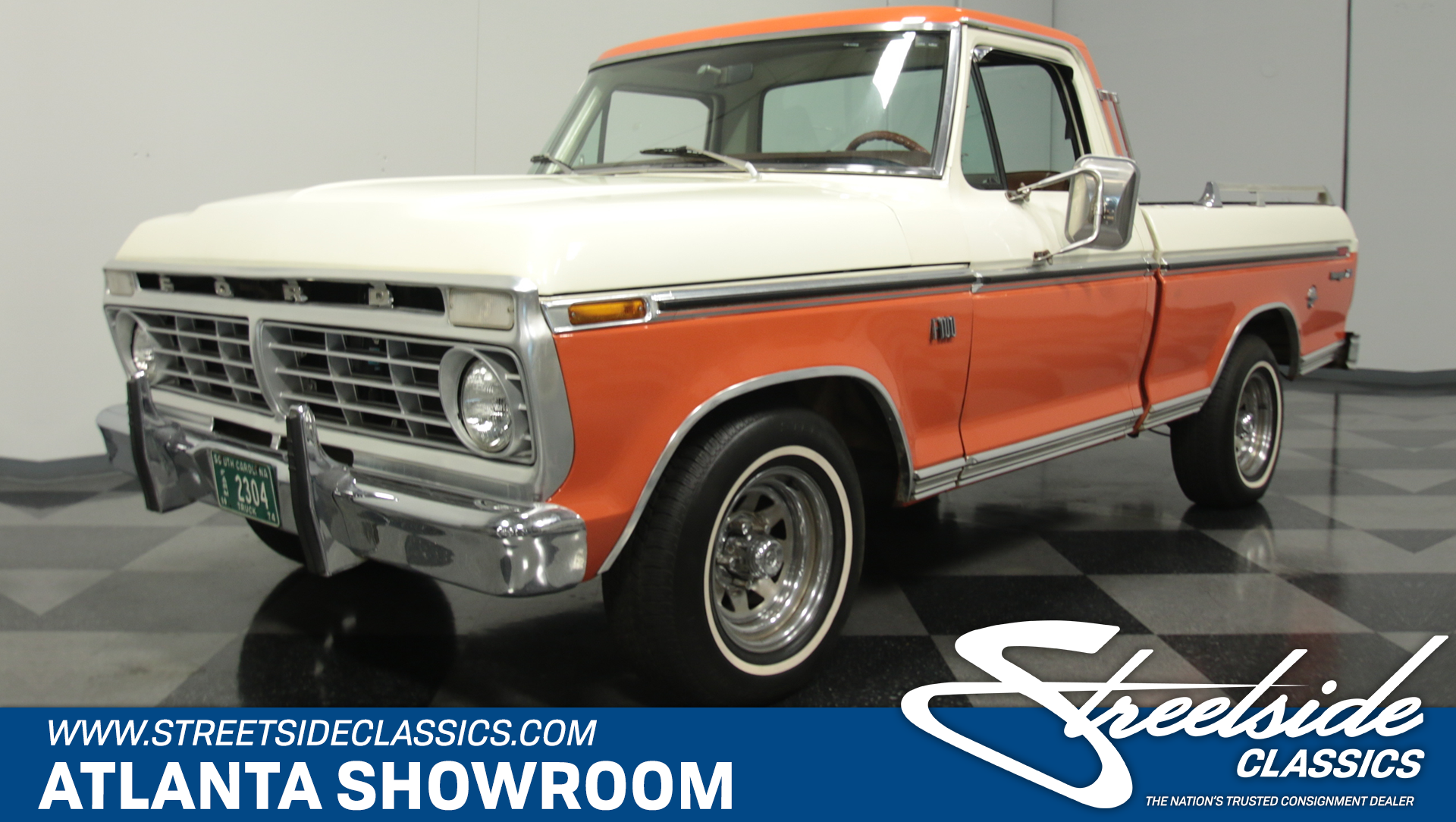 1974 Ford F 100 Streetside Classics The Nations Trusted Classic 1955 F100 Rat Rod Trucks View 360