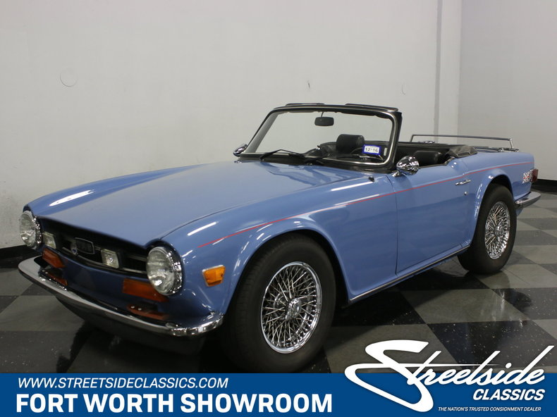 For Sale: 1974 Triumph TR6