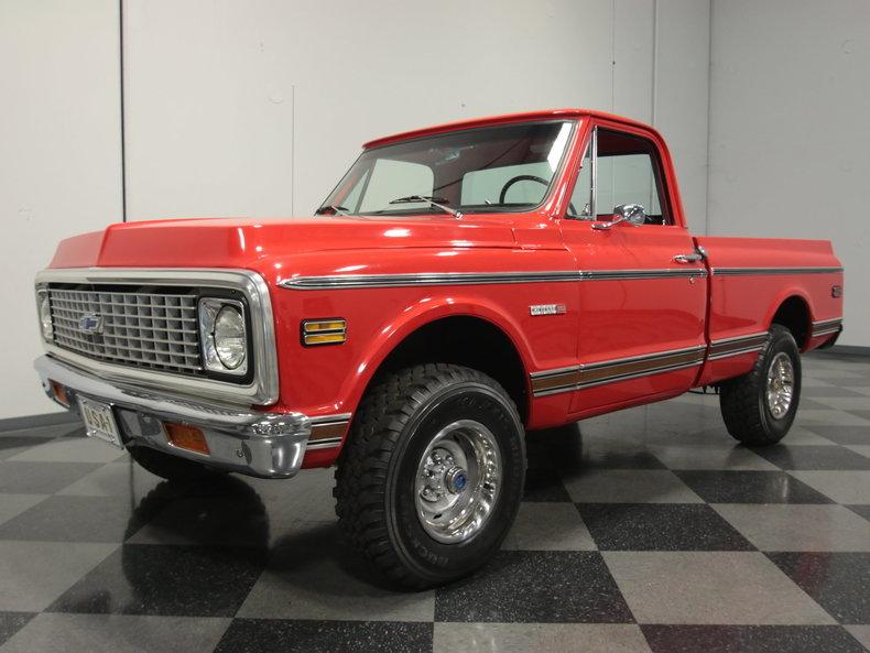 For Sale: 1972 Chevrolet K-10