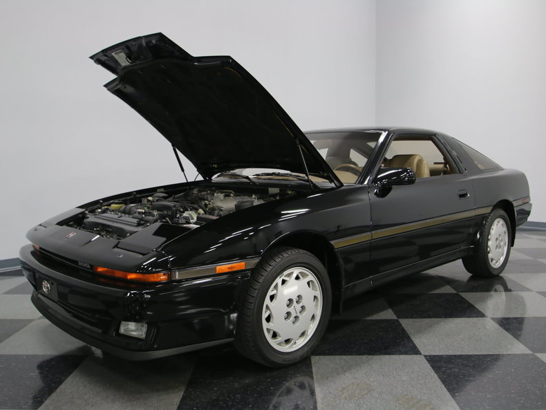 1987 toyota supra base hatchback 2 door ebay. Black Bedroom Furniture Sets. Home Design Ideas