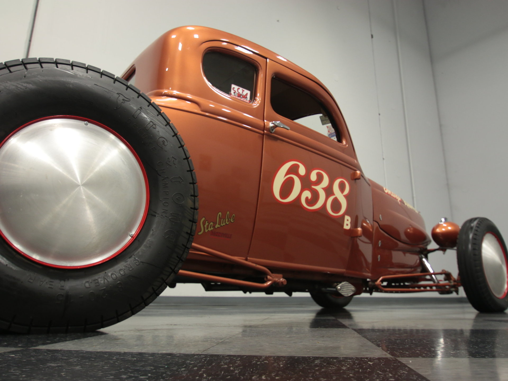 1930 Ford 5 Window Streetside Classics The Nations Trusted Chevy Sedan Spare Tire Mount View 360