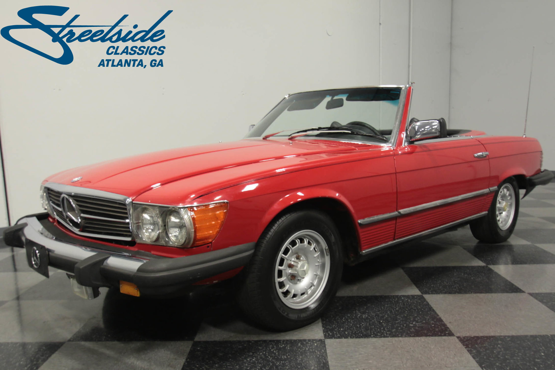 1976 mercedes benz 450sl streetside classics classic for Mercedes benz dallas for sale