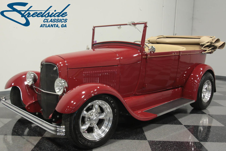 For Sale: 1929 Ford Phaeton