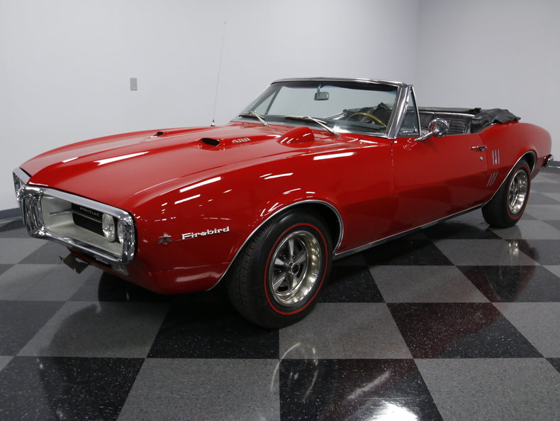 For Sale: 1967 Pontiac Firebird