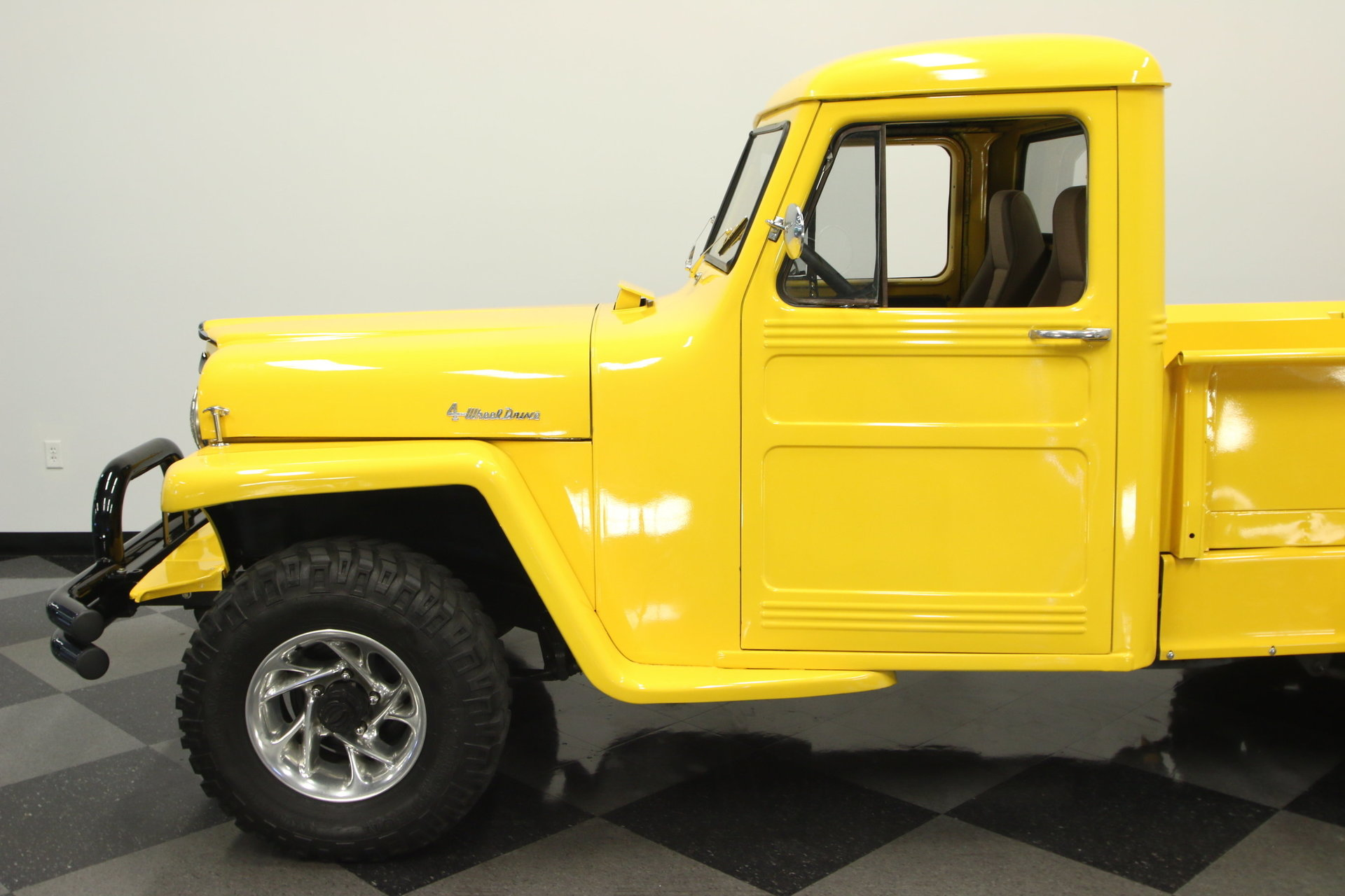 1955 Willys Pickup Streetside Classics The Nations Trusted 1950 Jeep Truck View 360