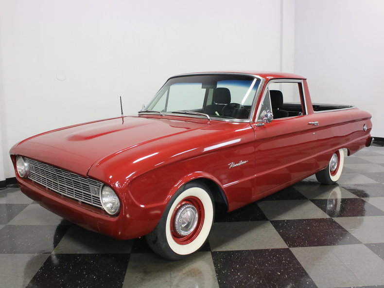 For Sale: 1960 Ford Ranchero
