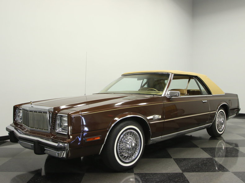 For Sale: 1980 Chrysler Cordoba
