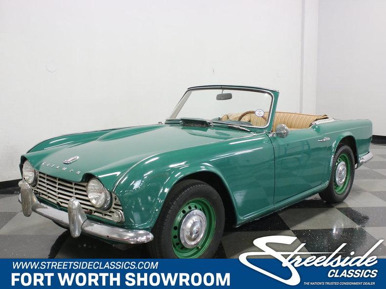 For Sale: 1963 Triumph TR4
