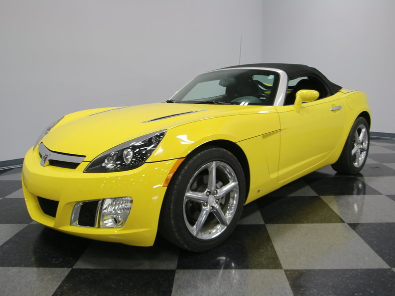2009 saturn sky red line convertible 2 door ebay. Black Bedroom Furniture Sets. Home Design Ideas