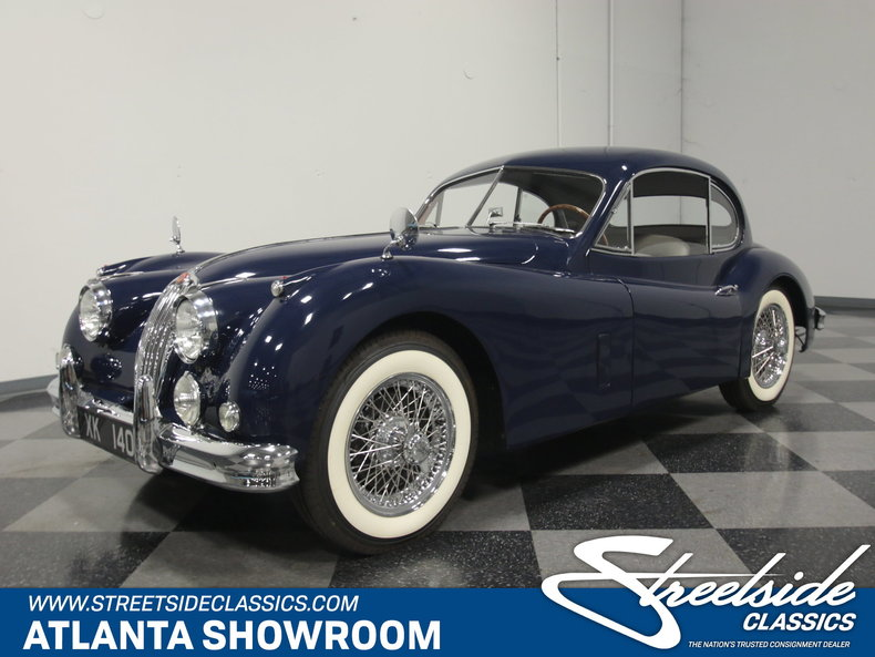 1957 jaguar xk140 streetside classics the nation s trusted