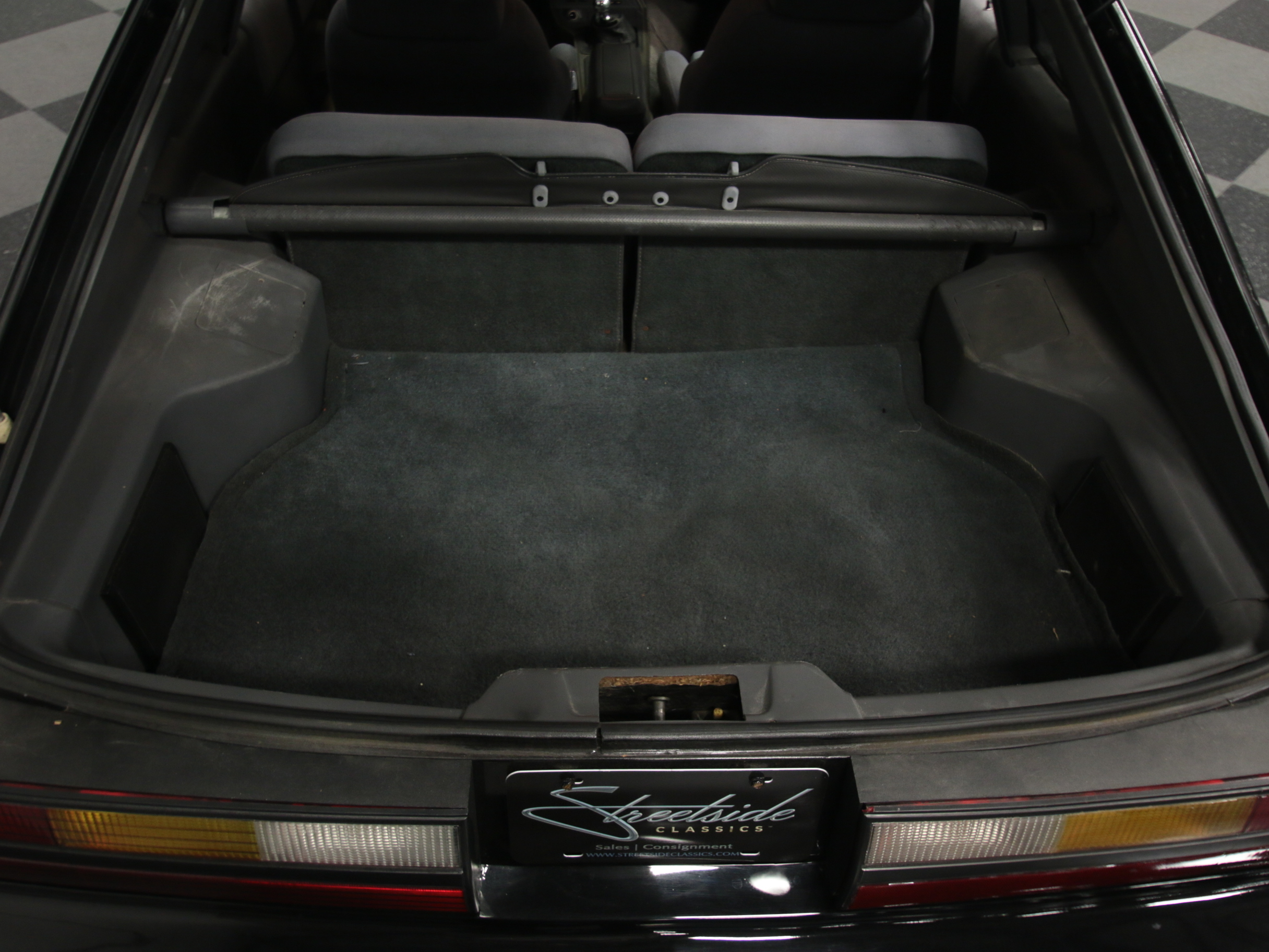 3458-ATL   1986 Ford Mustang SVO   Streetside Classics
