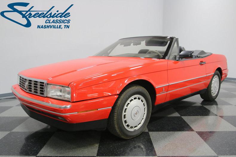 For Sale: 1990 Cadillac Allante