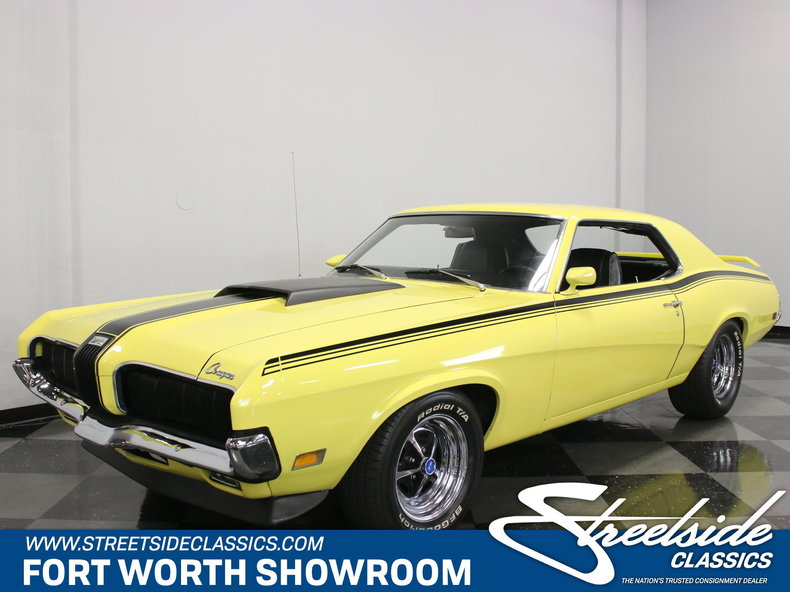 For Sale: 1970 Mercury Cougar