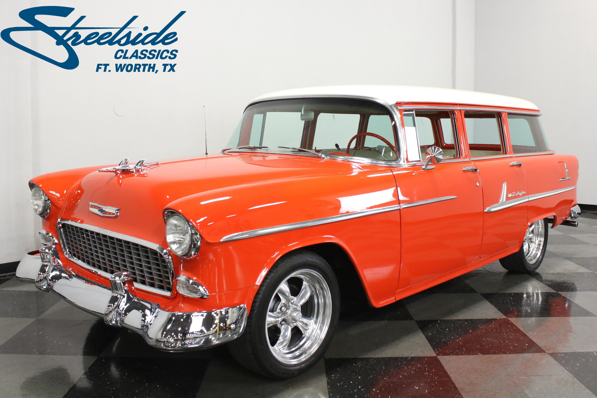 1955 Chevrolet Bel Air Streetside Classics The Nations Trusted Chevy Spincar View Play Video