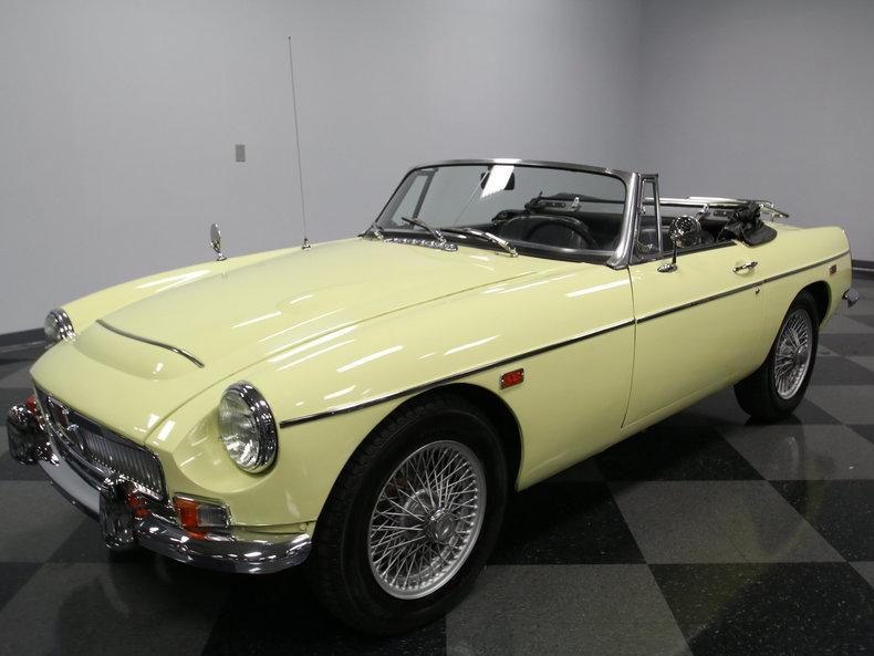 For Sale: 1969 MG MGC