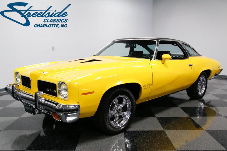 For Sale: 1973 Pontiac GTO