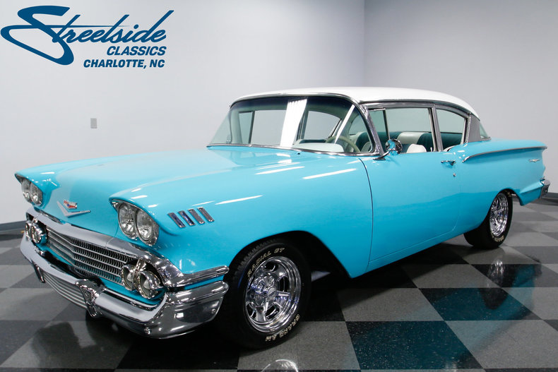 1958 chevrolet bel air streetside classics the nation 39 s trusted classic car consignment dealer. Black Bedroom Furniture Sets. Home Design Ideas