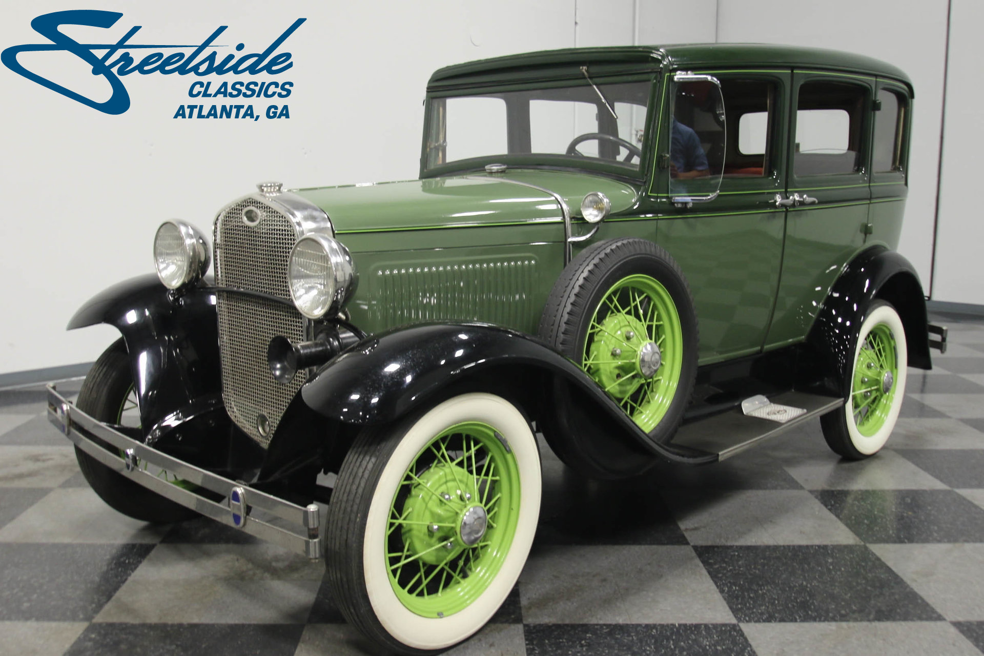 ... 1931 Ford Model A. Spincar view. Play Video