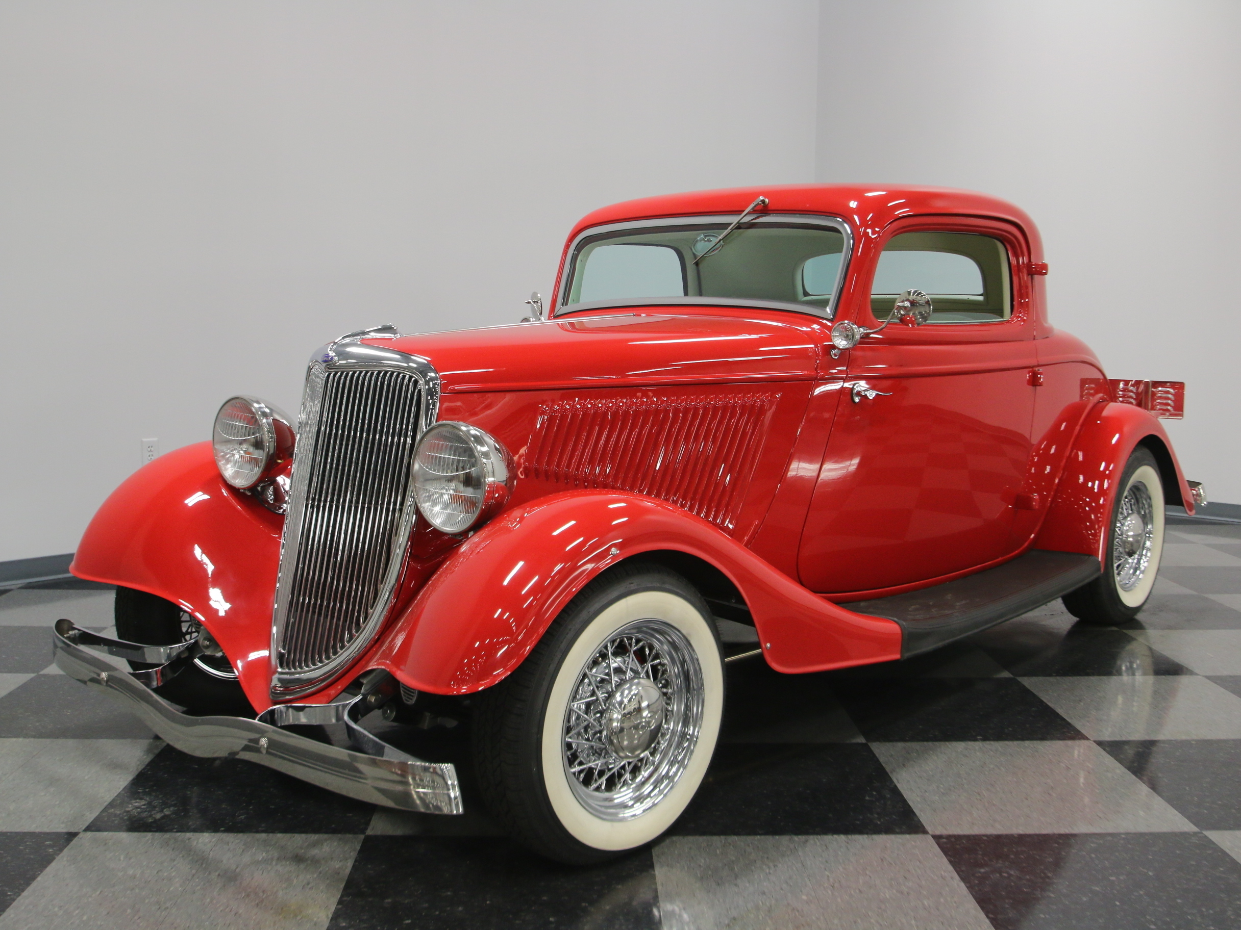 1934 ford 3 window coupe streetside classics classic for 1934 ford 3 window coupe body for sale