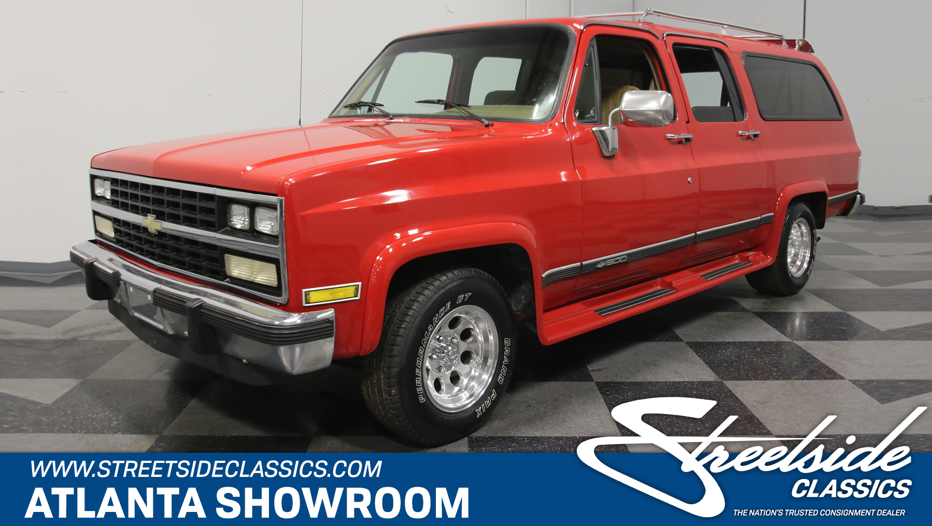 1985 Chevrolet Suburban Streetside Classics The Nations Trusted 1930 Chevy Sedan Spare Tire Mount Play Video