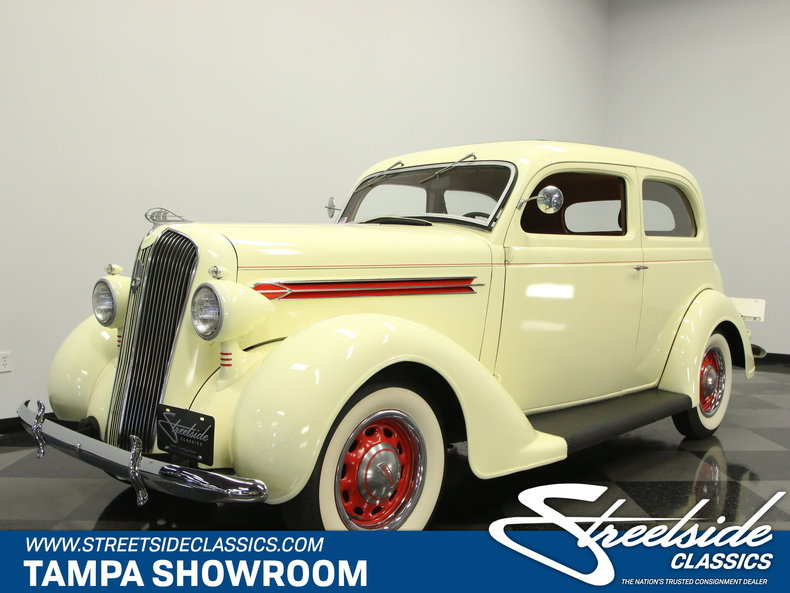 Inventory streetside classics classic exotic car for 1936 plymouth 4 door
