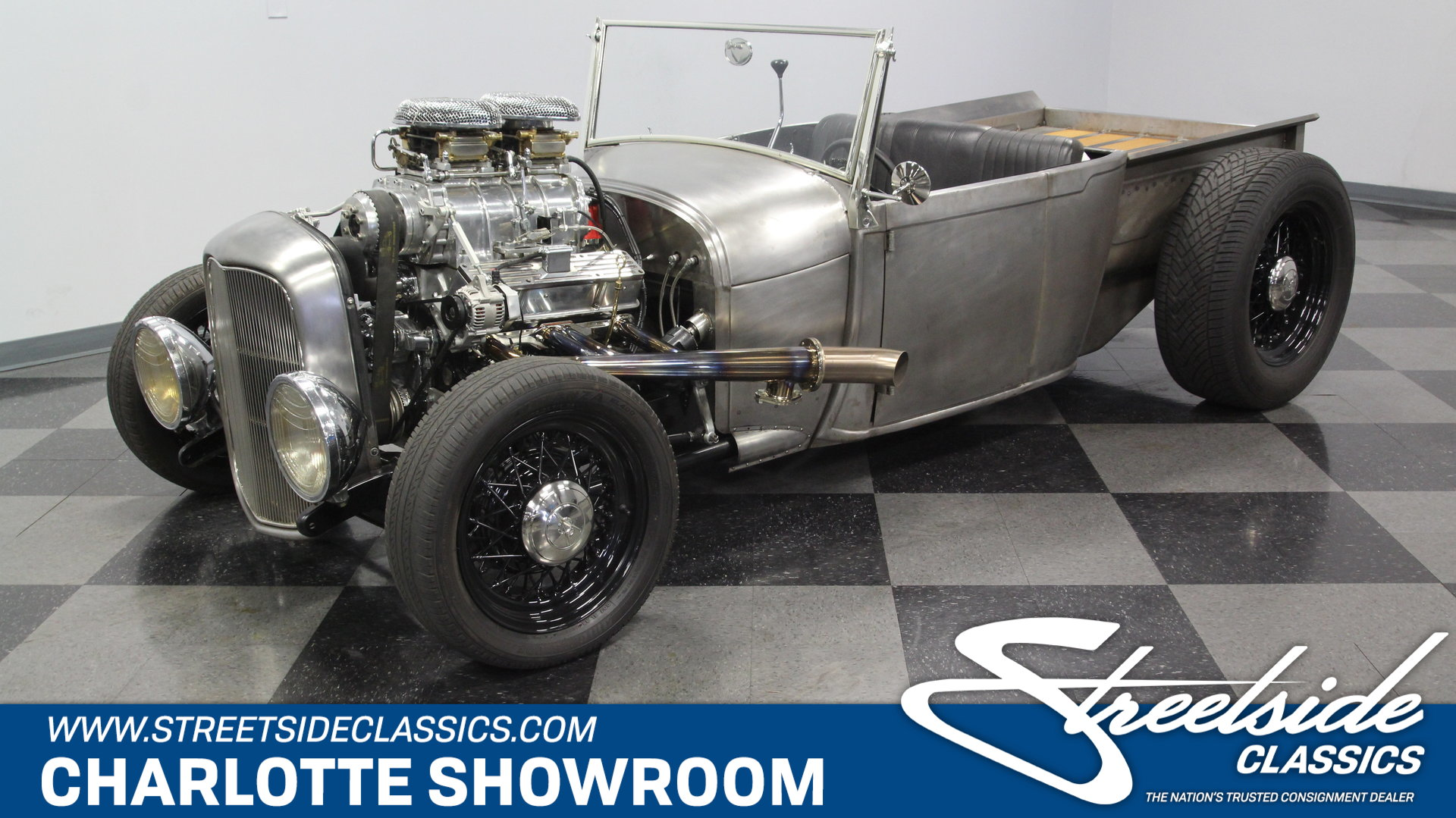 1929 Ford Roadster Pick Up Streetside Classics The Nations 1948 Pickup Hot Rod Play Video